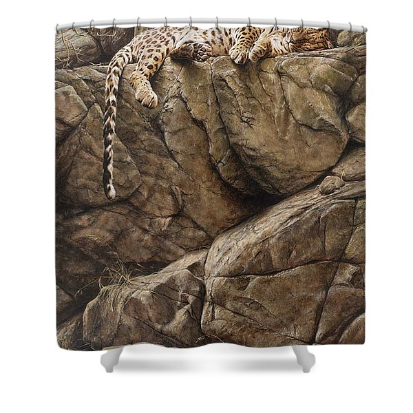 Resting In Comfort Shower Curtain