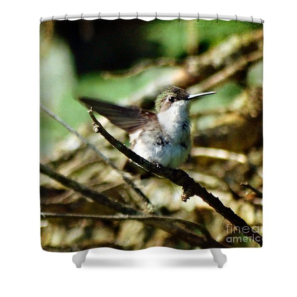 Resting Naturally Shower Curtain