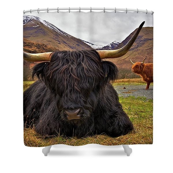 Resting Place Shower Curtain