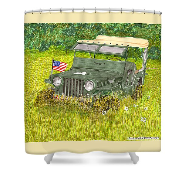 Retired But Still Ready Shower Curtain