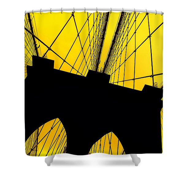Retro Arches Shower Curtain