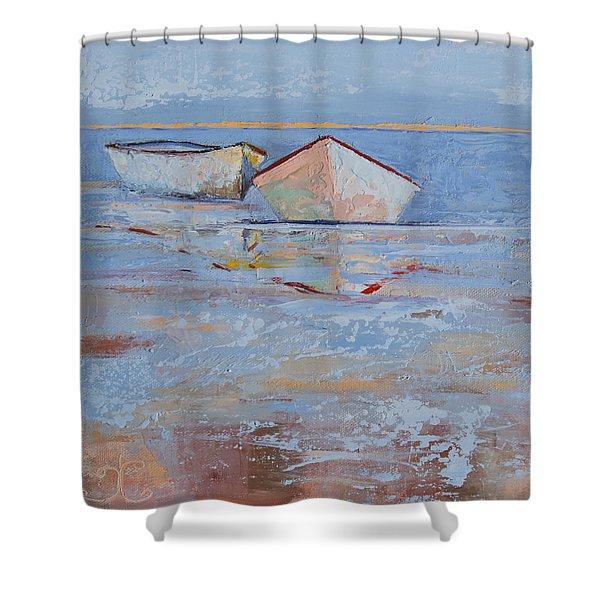 Returning Tides Shower Curtain