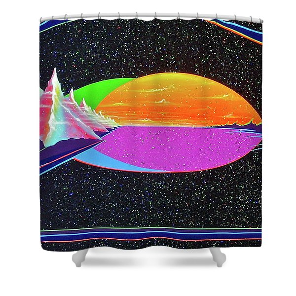 Revelations New Earth Shower Curtain