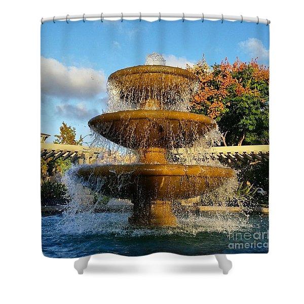 Revitalize  Shower Curtain