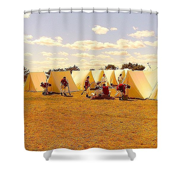 A Revolutionary Day  Shower Curtain
