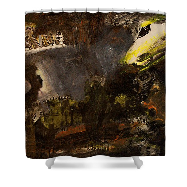 Revue/life Is Beautiful Shower Curtain
