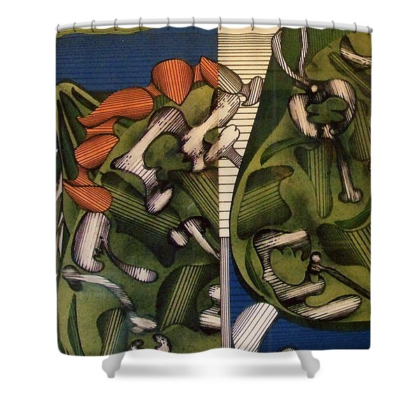 Rfb0105 Shower Curtain