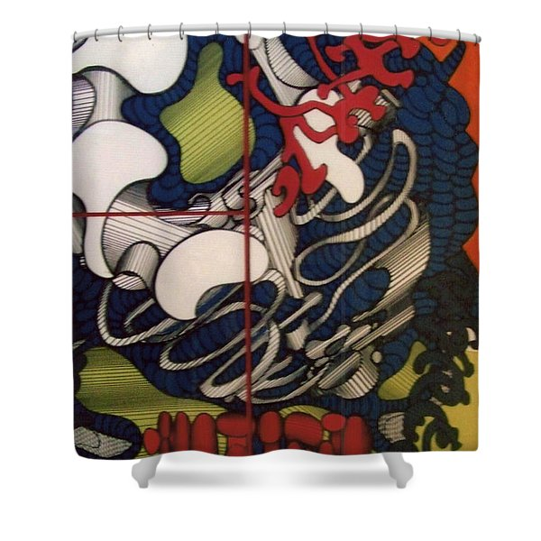 Rfb0112 Shower Curtain