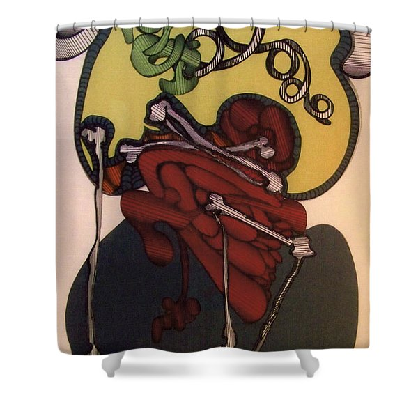 Rfb0113 Shower Curtain