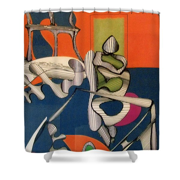 Rfb0122 Shower Curtain