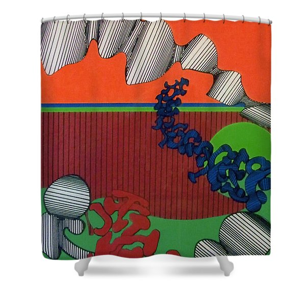 Rfb0124 Shower Curtain