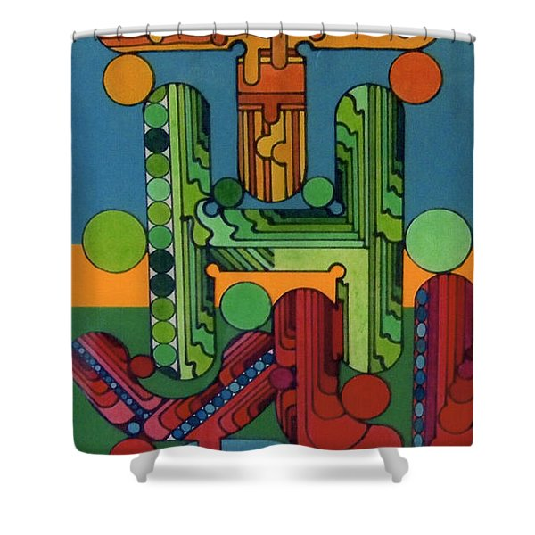 Rfb0128 Shower Curtain