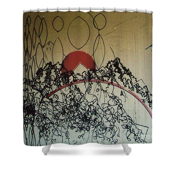 Rfb0208-2 Shower Curtain
