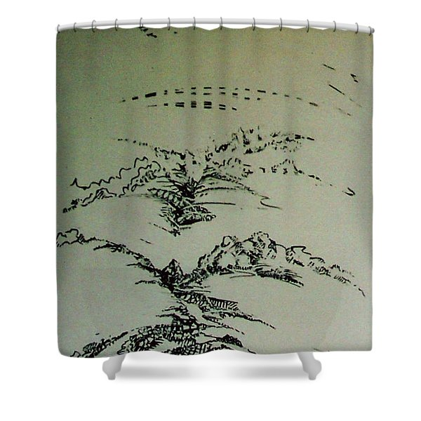 Rfb0209 Shower Curtain