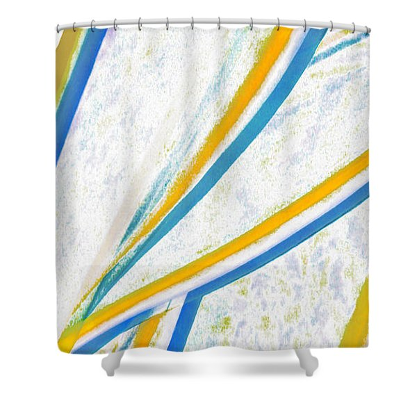 Rhapsody In Leaves No 1 Shower Curtain