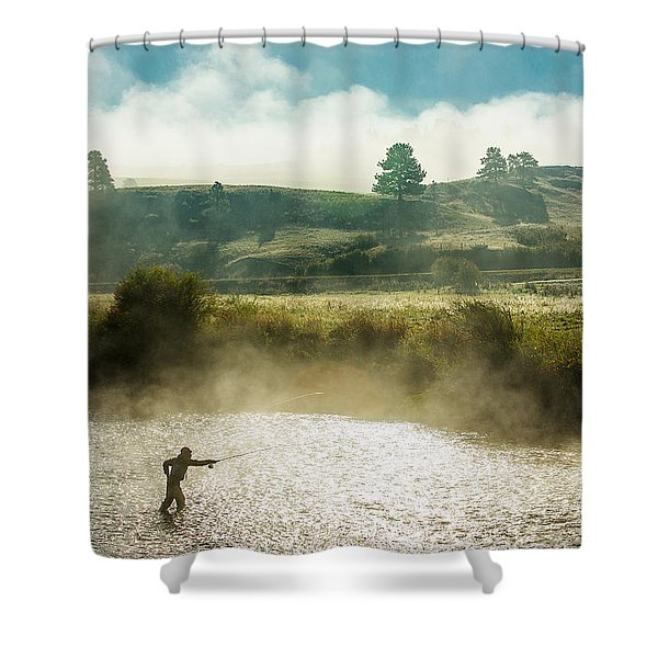 Rhythm And Grace Shower Curtain