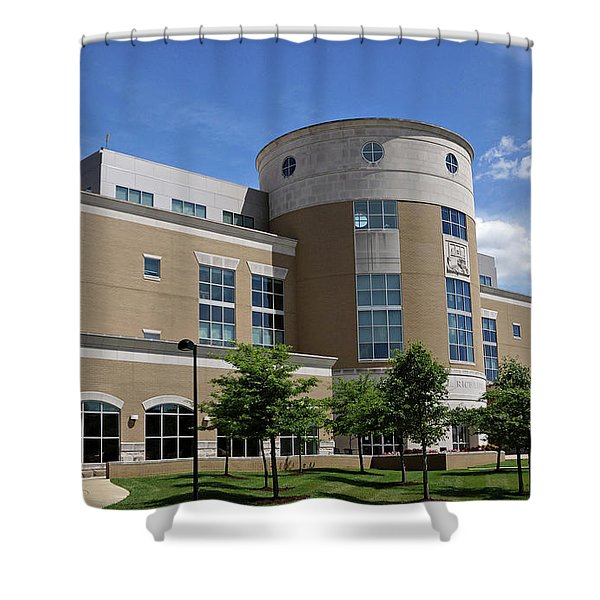 Rice Library Shower Curtain
