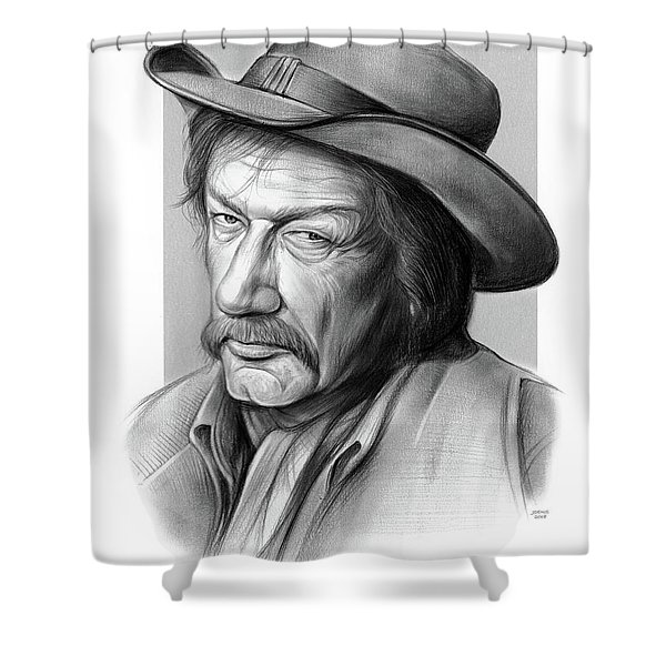 Richard Boone 3 Shower Curtain