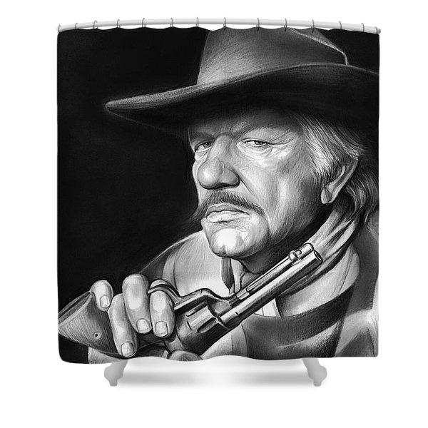 Richard Boone Shower Curtain
