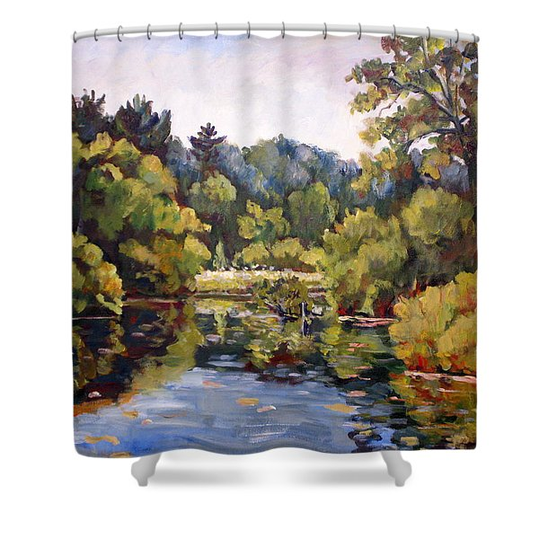 Richard's Pond Shower Curtain
