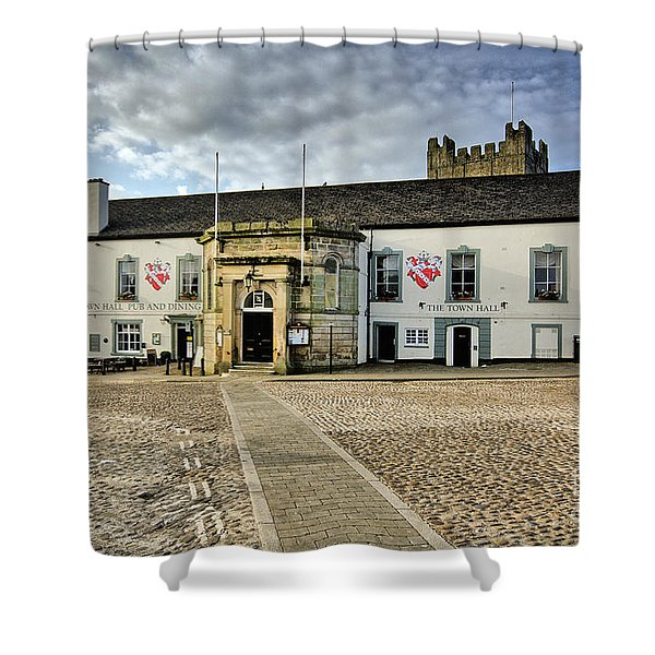 Richmond Town Hall Shower Curtain