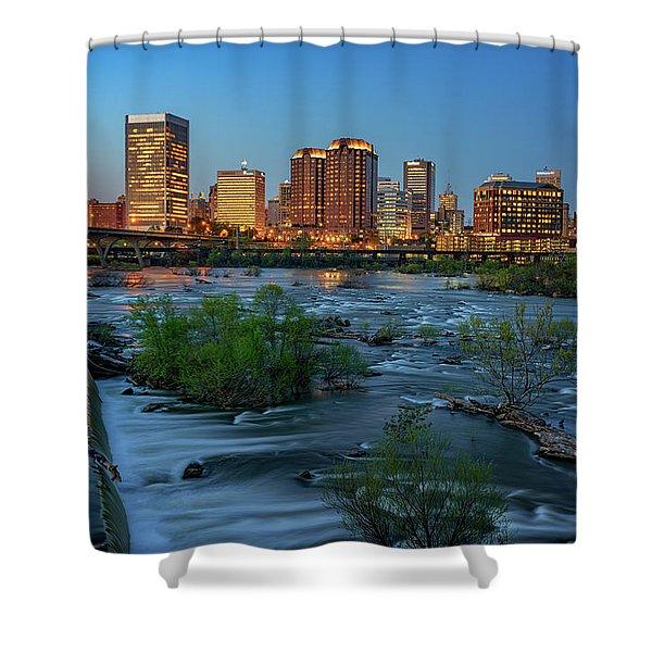 Richmond Twilight Shower Curtain