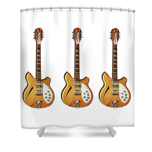 Rickenbacker 360 12 1964 Shower Curtain