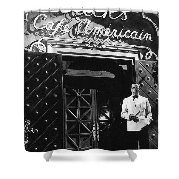 Ricks Cafe Americain Casablanca 1942 Shower Curtain