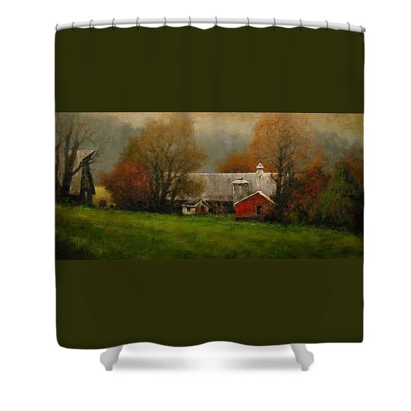 Ridgefield Farm Shower Curtain