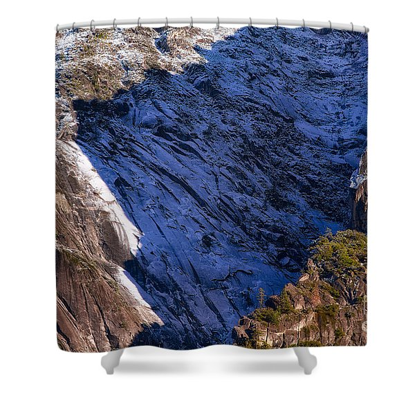 Ridgeline Shadows Shower Curtain