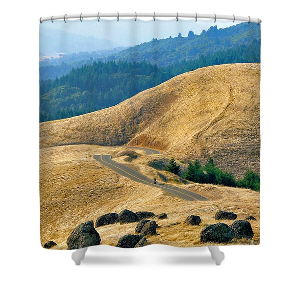 Riding The Mountain Shower Curtain