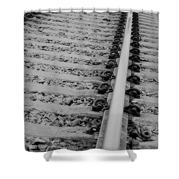 Riding The Rail Shower Curtain