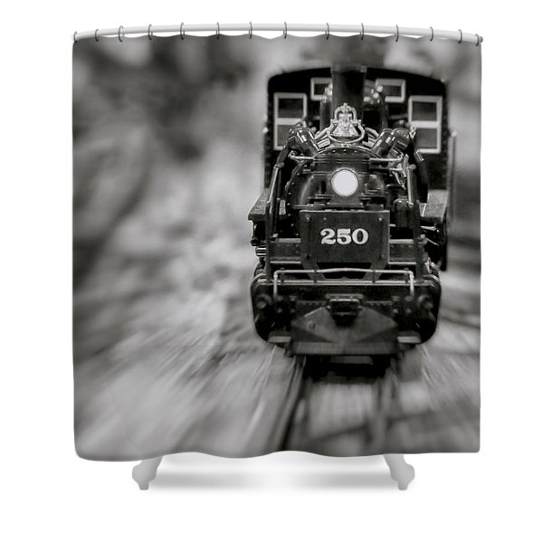 Riding The Railways Shower Curtain