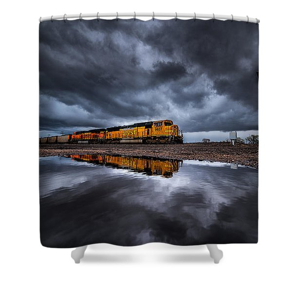 Riding The Storm Out Shower Curtain