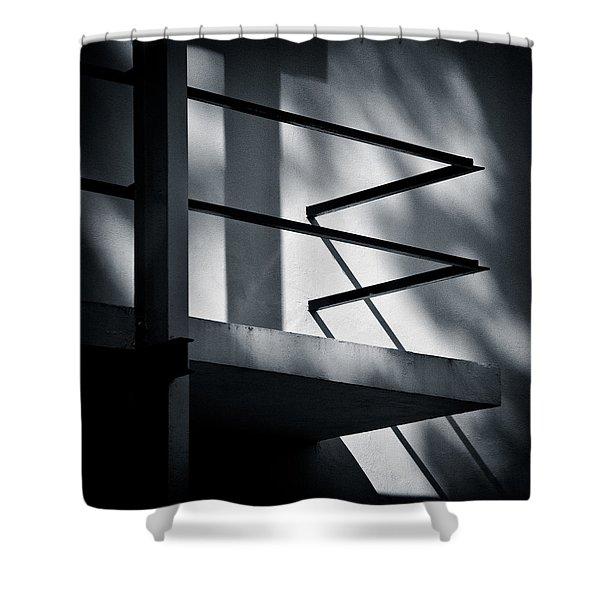 Rietveld Schroderhuis Shower Curtain