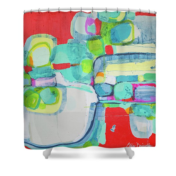 Right Away Shower Curtain