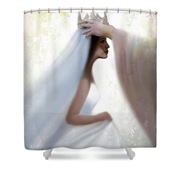 Righteous Crown Shower Curtain