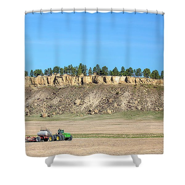 Rimrock Seeder Shower Curtain