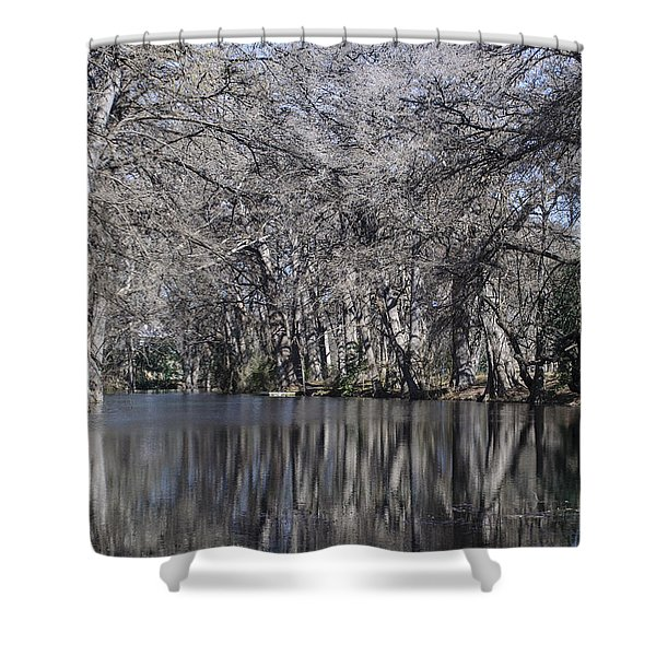 Rio Frio In Winter Shower Curtain