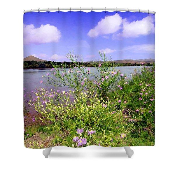 Rio Grande De Las Cruces Shower Curtain