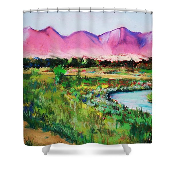 Rio On Country Club Shower Curtain
