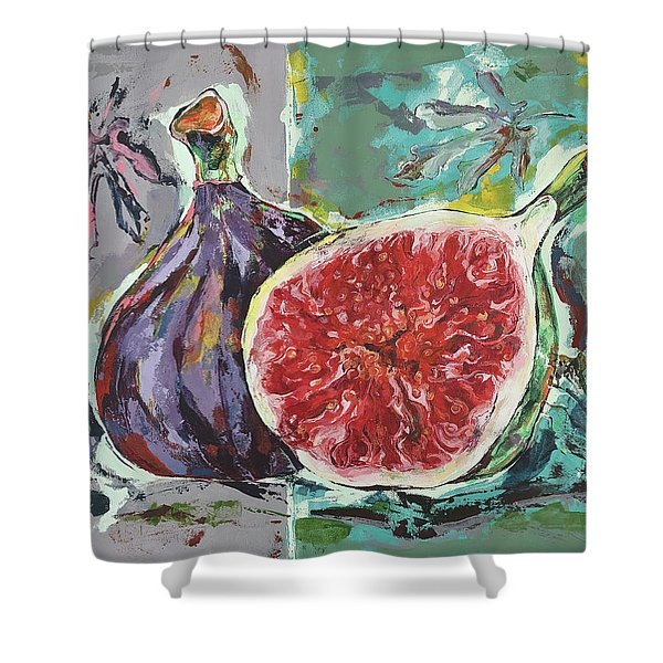 Ripe Figs Shower Curtain