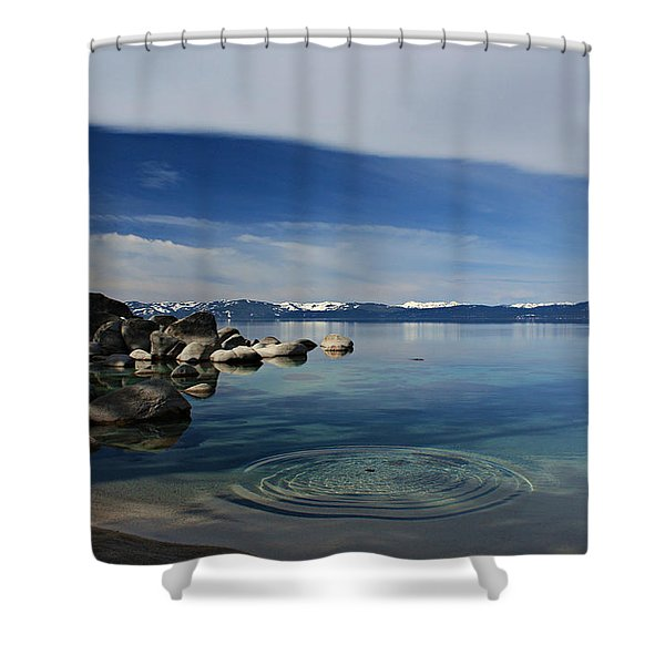 Shower Curtain featuring the photograph Ripples   by Sean Sarsfield