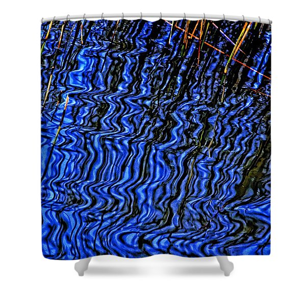 Ripples In The Water Shower Curtain