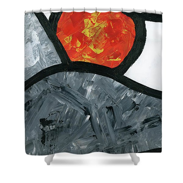 Rise And Fall 2 Shower Curtain
