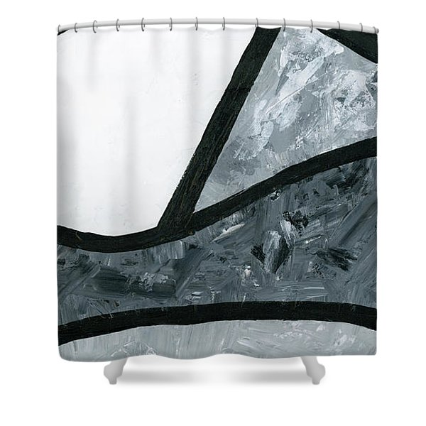 Rise And Fall 3 Shower Curtain