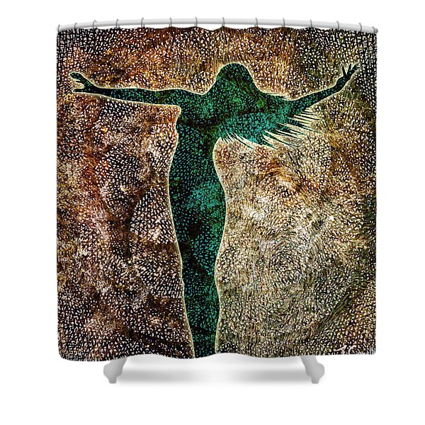 The Divine Feminine Shower Curtains Fine Art America