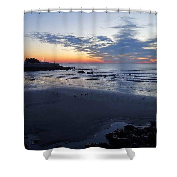 Rise Of The Phoenix Over King's Beach Lynn Ma Shower Curtain