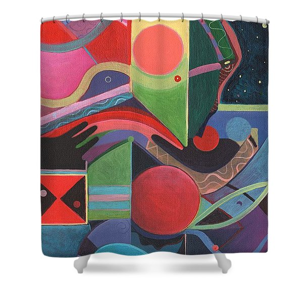 Rising Above And Synergy 2 Shower Curtain