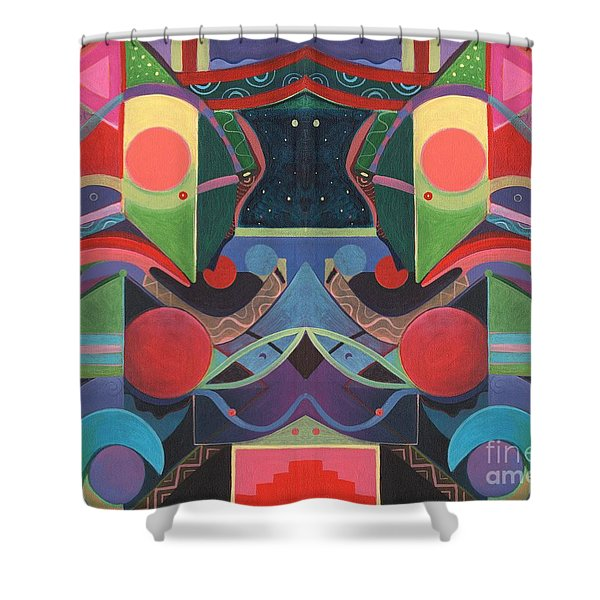 Rising Above And Synergy 3 Shower Curtain